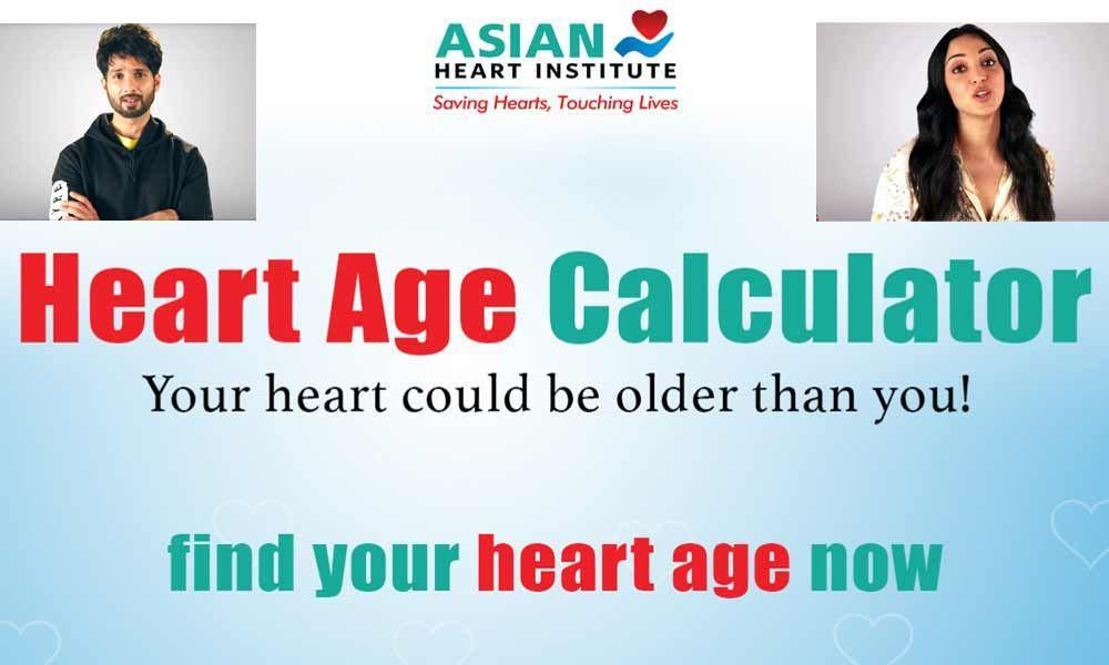 Shahid, Kiara & Asian Heart Institute Want You To Know Your Heart Age