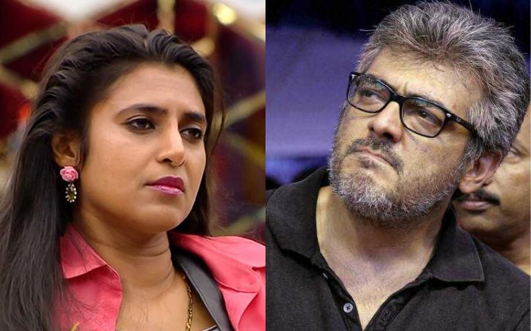 Kasthuri Shankar's Anger on Ajith's Fans