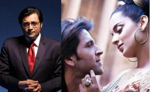 Arnab Goswami's Alleged Leaked Chats Go Viral, A Message Reads, 'Kangana Ranaut is Sexually Possessed with Hrithik Roshan'