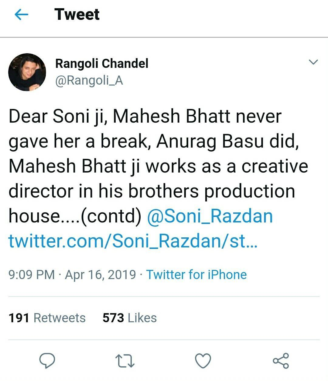 Soni- Rangoli Twitter Spat, Bharat & India's Most Wanted Poster Release