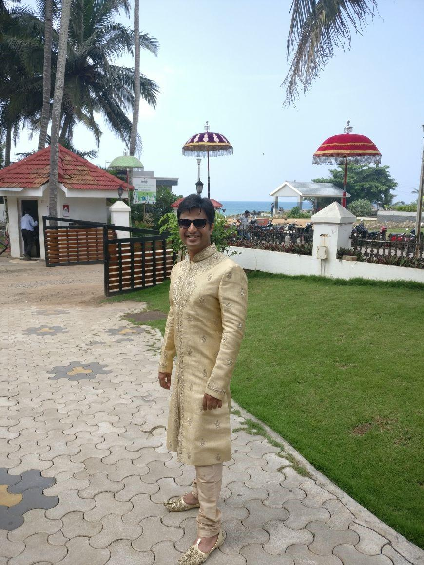 Destination Wedding At The Leela Kovalam, Kerala