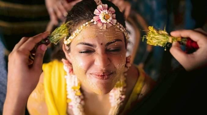 Kajal Aggarwal's Pre-Wedding Snaps Are Explosive!