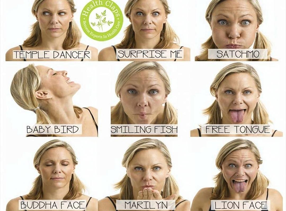 Face yoga? Yes it exists! And it works wonders!