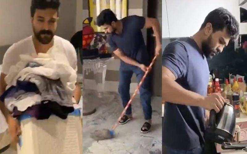Ram Charan Dares Ranveer Singh & Rana Daggubati