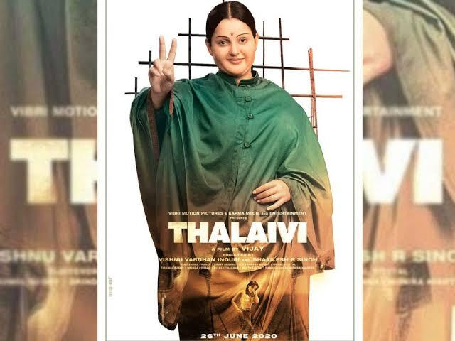 """Kangana In """"Thalaivi""""  Looks Unrecognisible In The Teaser!"""