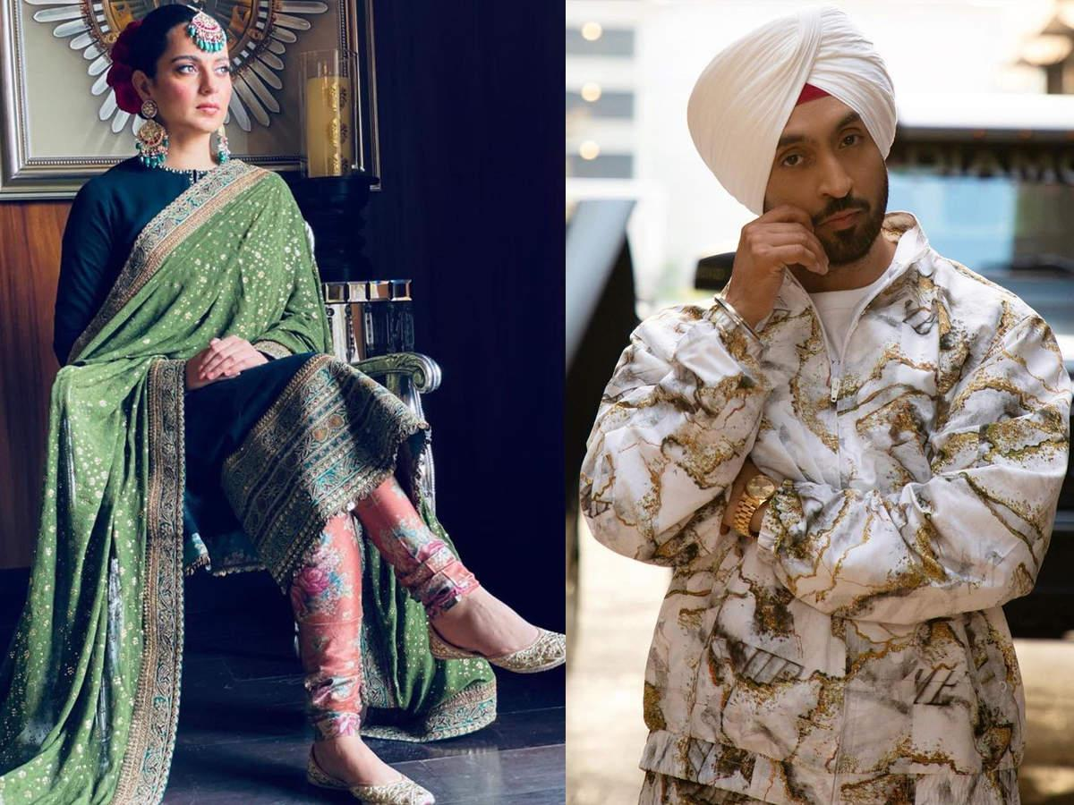 Kangana Ranaut and Diljit Dosanjh Fight Turns Ugly