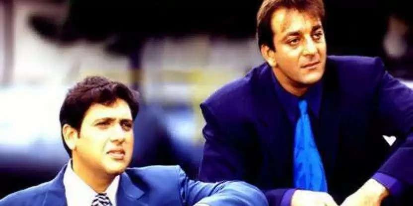 govinda and sanjay dutt