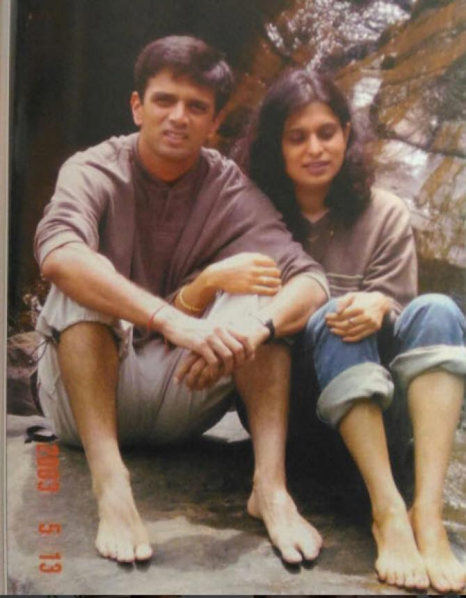 Rahul Dravid and His Wife Vijeta Pendharkar's Love Story