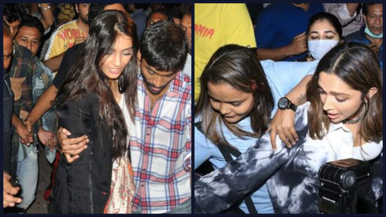 Incidents When Bollywood Stars Like Kareena And Deepika Were Mobbed Or Improperly Touched In Public