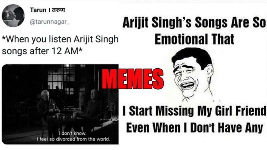 arijit singh memes