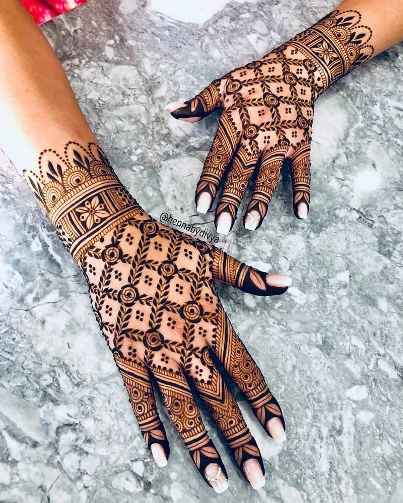 8 Types of Mehndi Designs From Different Cultures in 2021
