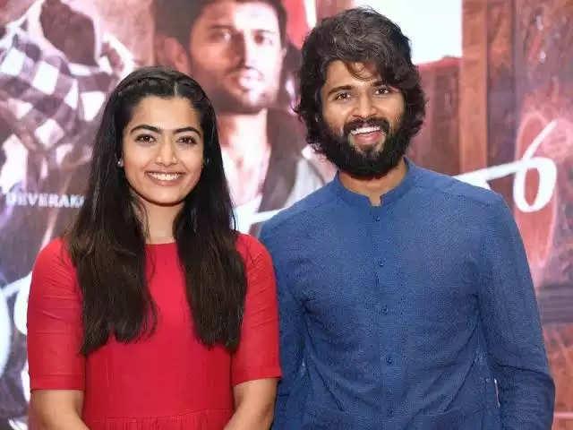 Rashmika and Vijay Devarakonda
