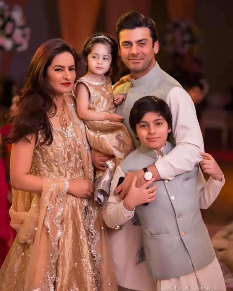 fawad khan and family
